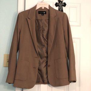 LIKE NEW! Pre-loved Forever 21 nude blazer